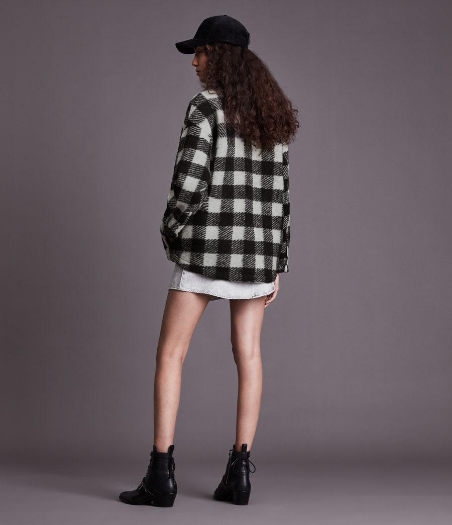 Women's Fenix Check Jacket (black_white) - Image 4