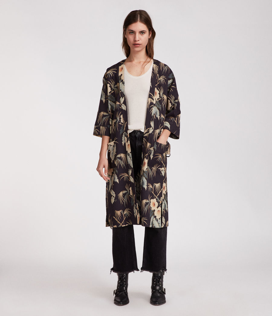 Womens Kos Kimono (ink) - Image 1
