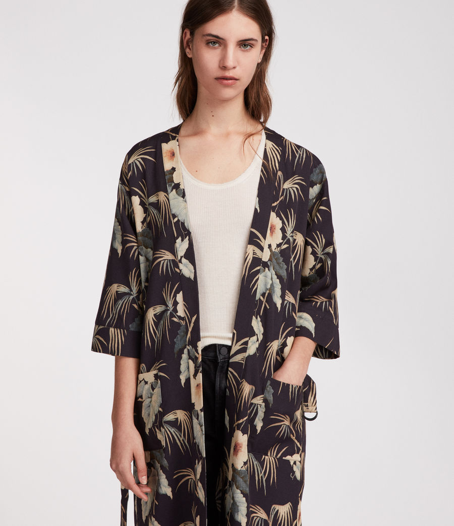 Womens Kos Kimono (ink) - Image 4