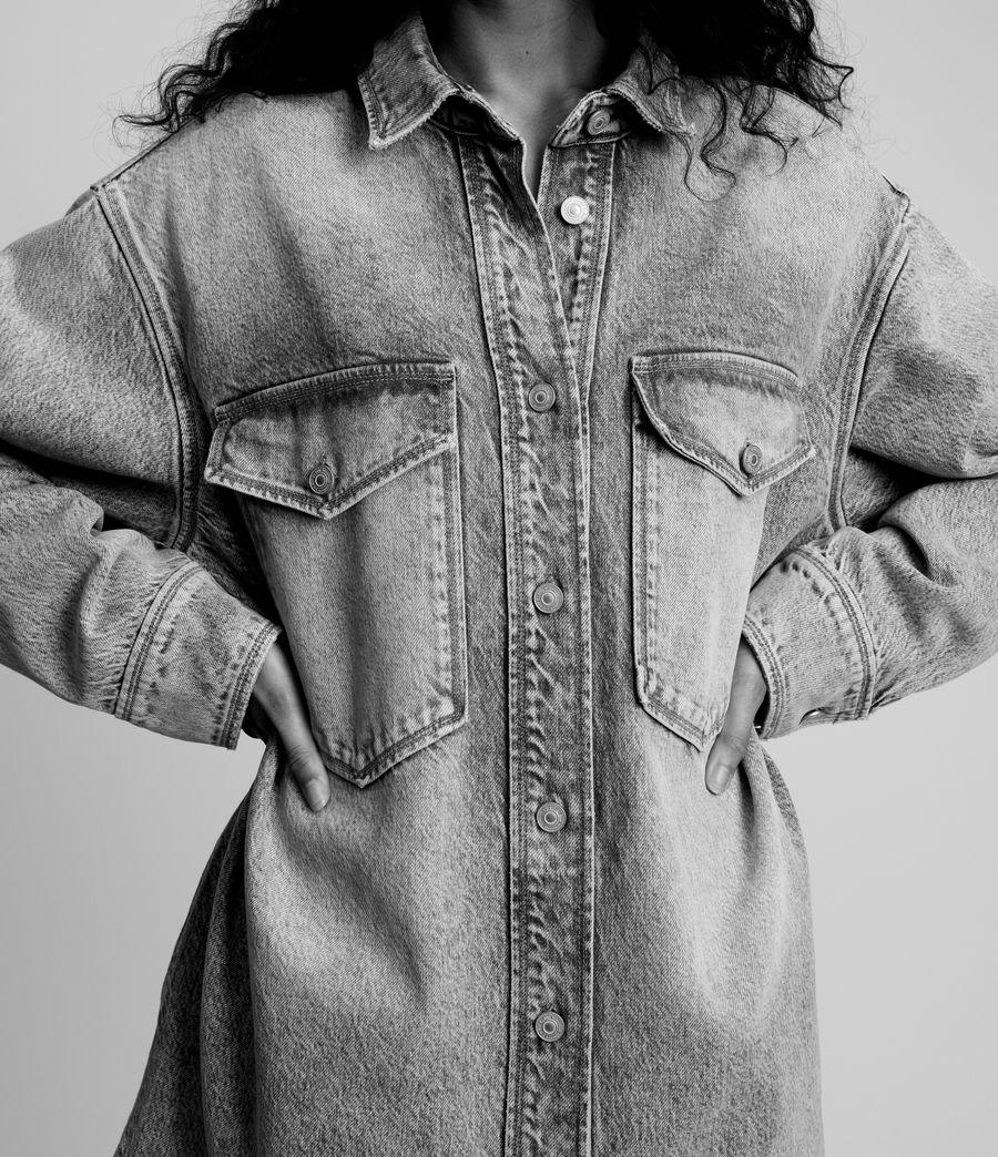 Women's Lily Shacket Dress (light_indigo) - Image 7