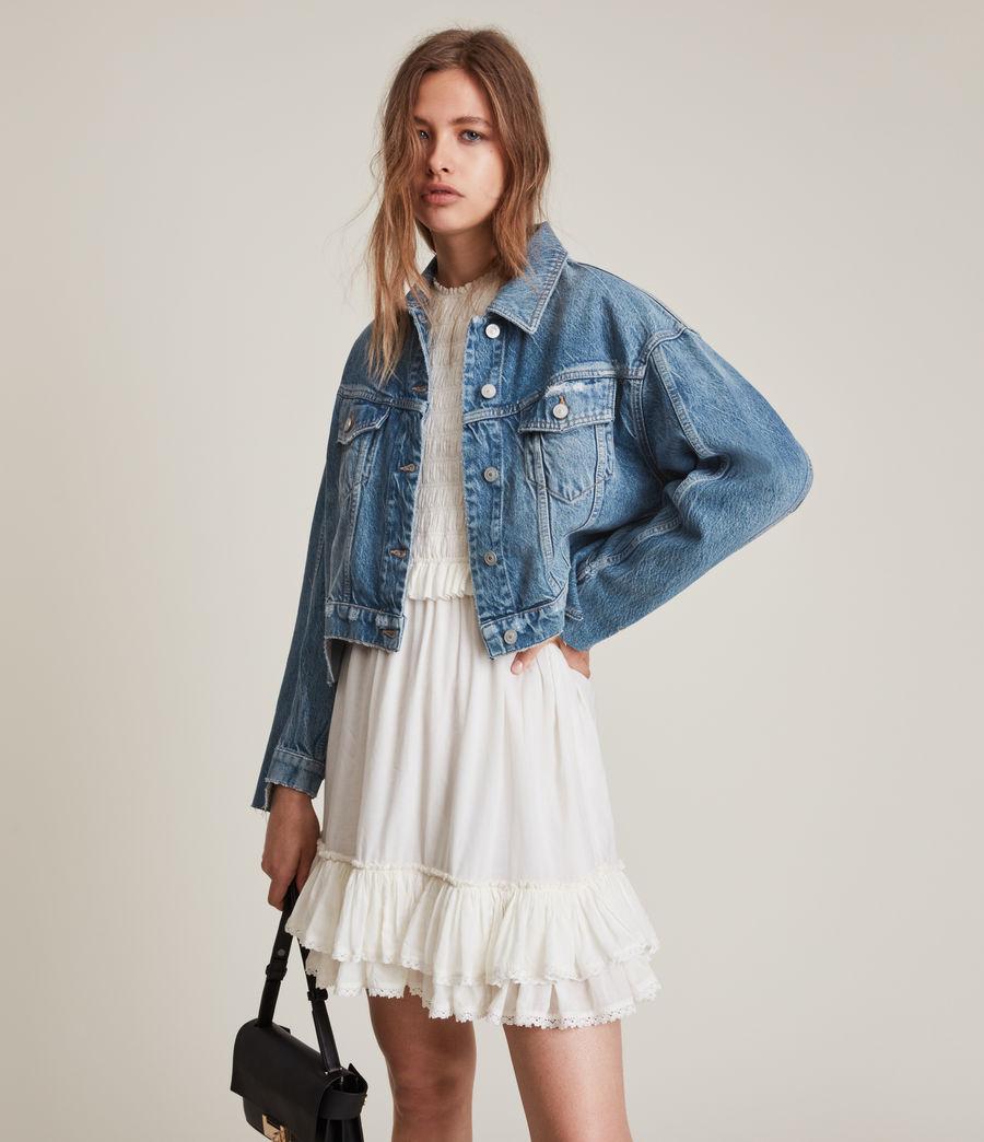 Damen Beth Patch Denim Jacket (washed_indigo) - Image 3