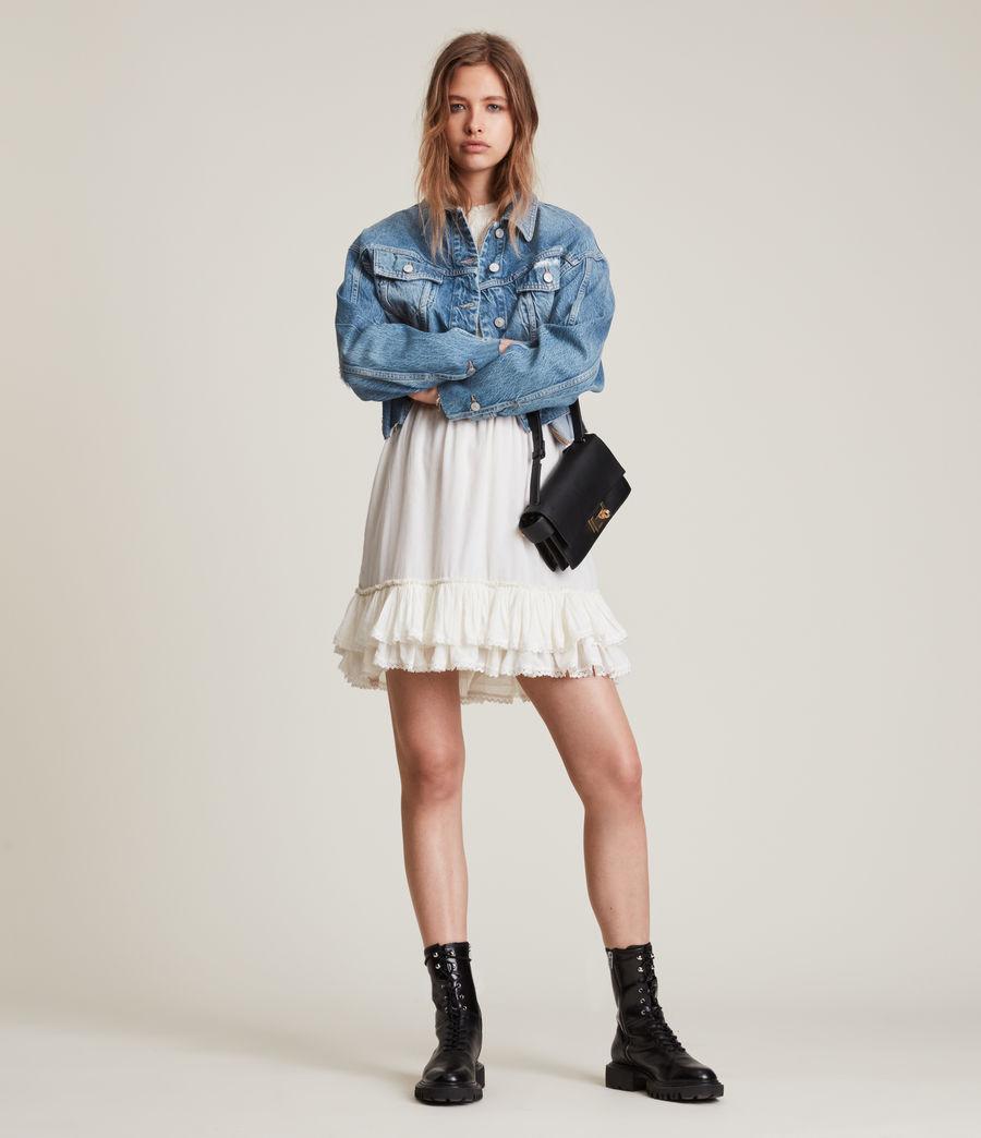 Damen Beth Patch Denim Jacket (washed_indigo) - Image 5