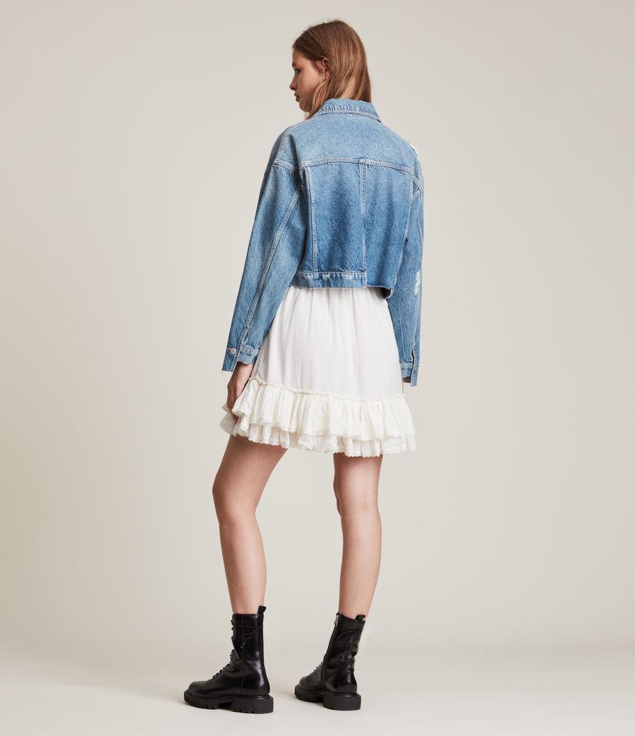 Damen Beth Patch Denim Jacket (washed_indigo) - Image 7