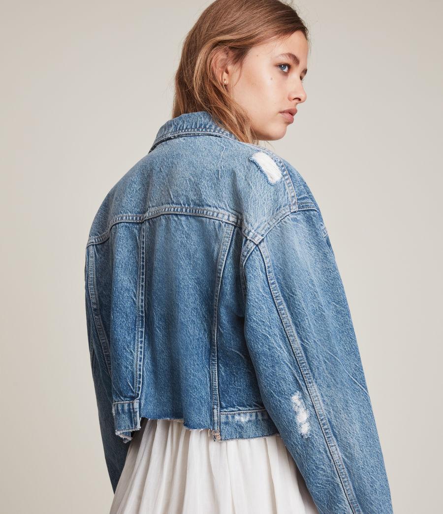 Damen Beth Patch Denim Jacket (washed_indigo) - Image 8