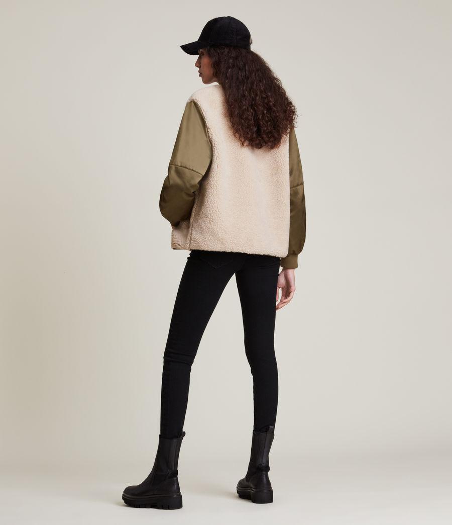 Damen Suri Bomber Jacket (khaki_ivory) - Image 6