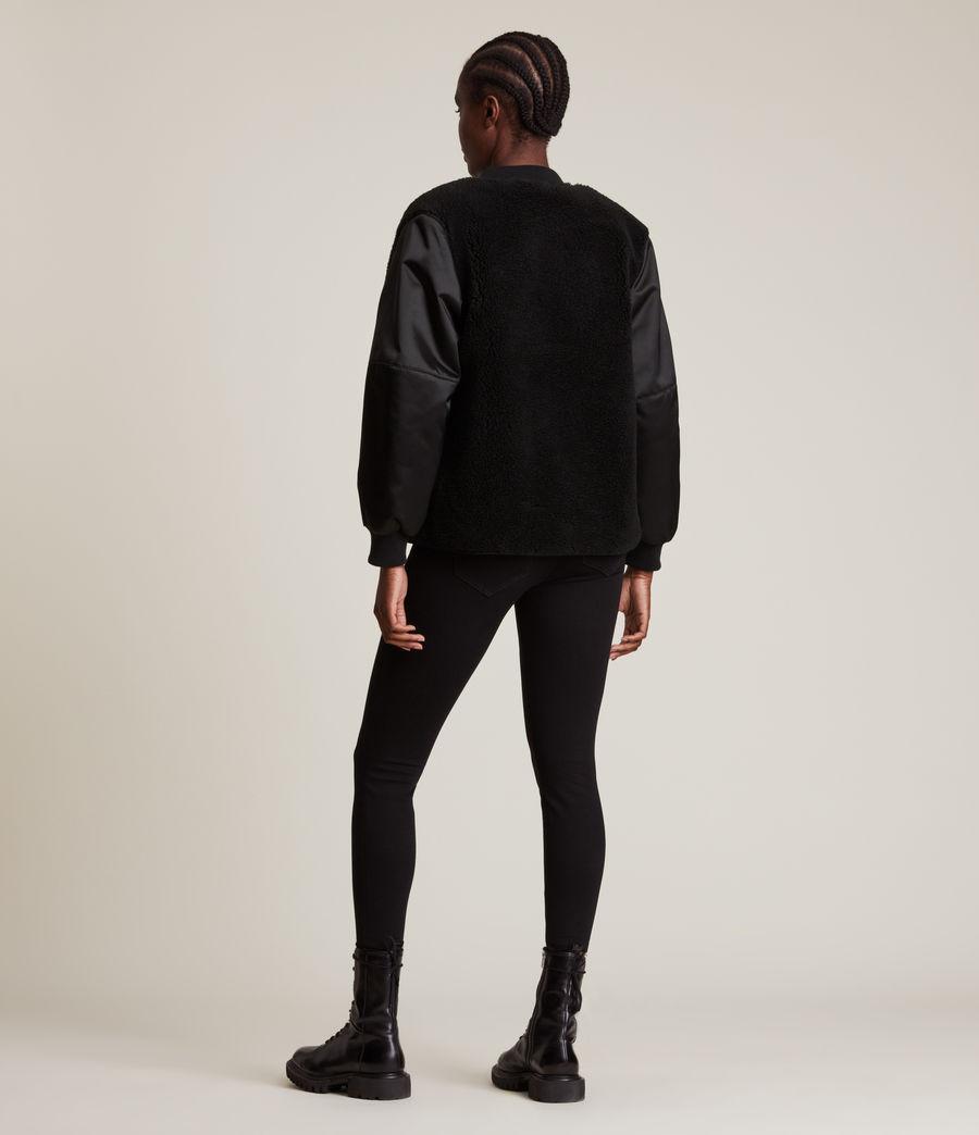 Women's Suri Bomber Jacket (black_black) - Image 6