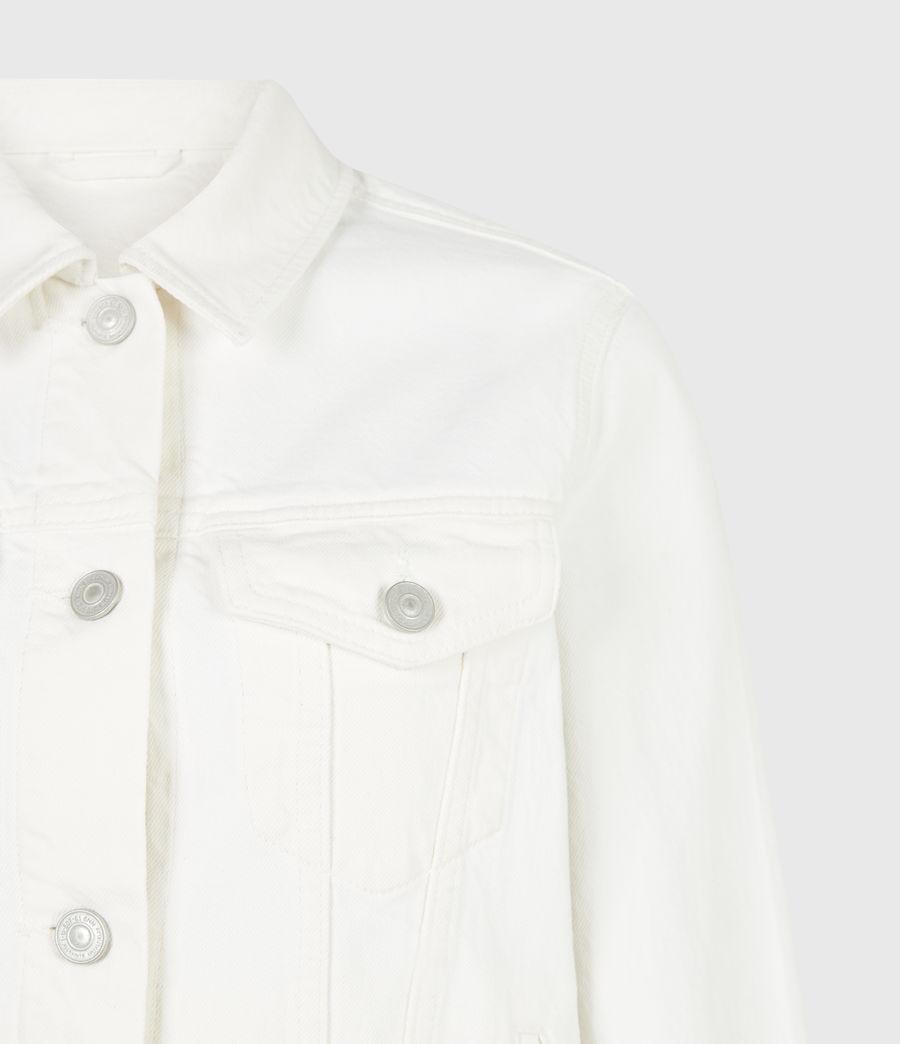 Women's Hay Denim Jacket (ecru_white) - Image 5