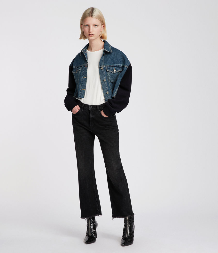 Womens Anders Denim Jacket (indigo_blue) - Image 1