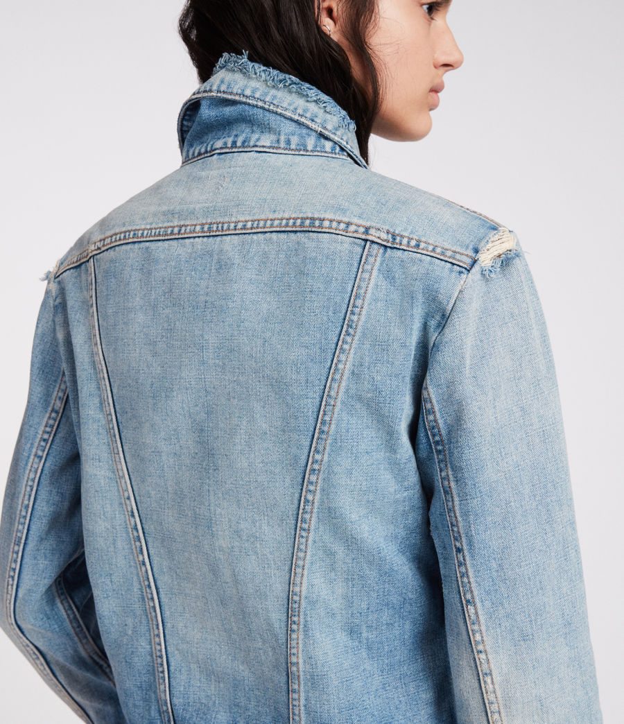 Femmes Veste en Jean Star (indigo_blue) - Image 6