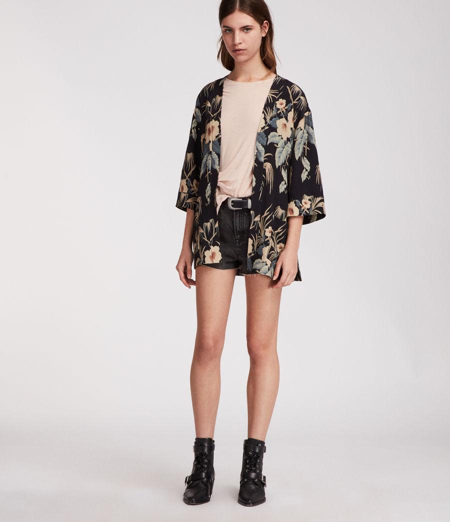Womens Kyoto Kimono Jacket (ink) - Image 2