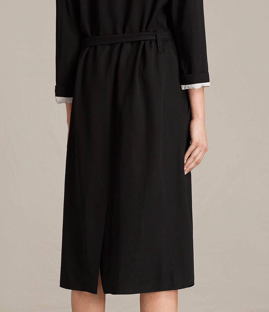Femmes Trench-coat Sandra (ink_blue) - Image 5