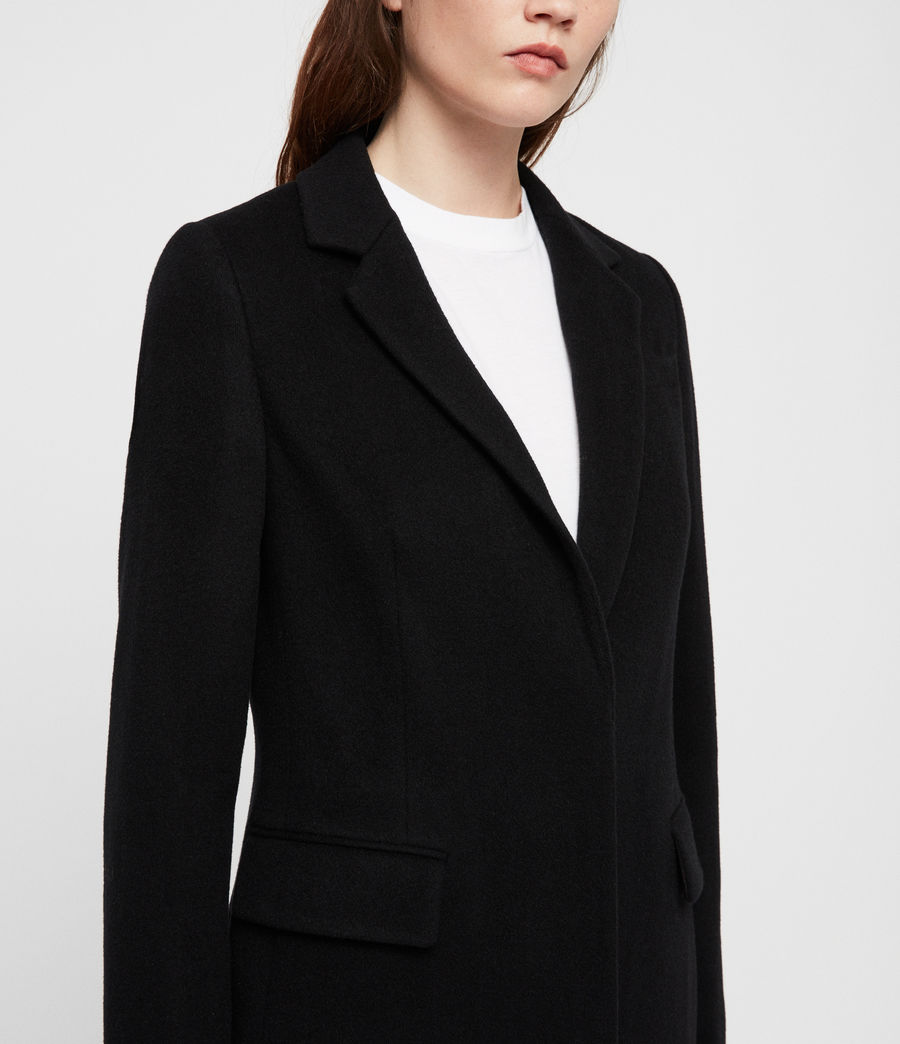 Womens Indra Coat (black) - Image 3
