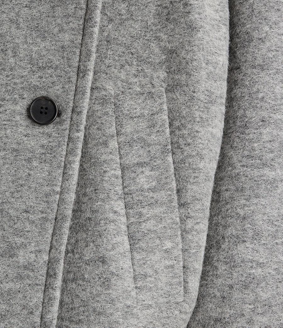 Womens Meade Ricci Coat (pale_grey) - Image 5