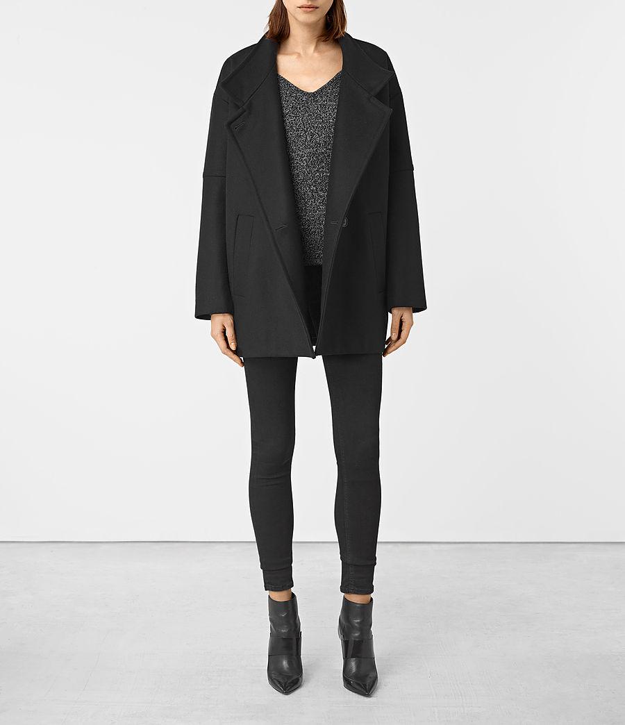 Damen Meade Nesi Coat (black) - Image 3