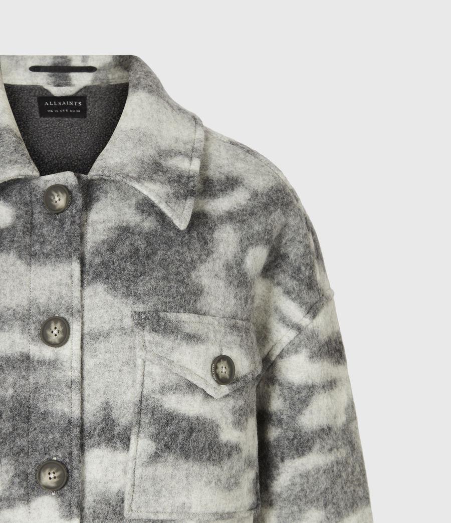 Womens Fenix Sherpa Lined Jacket (grey_marl) - Image 5