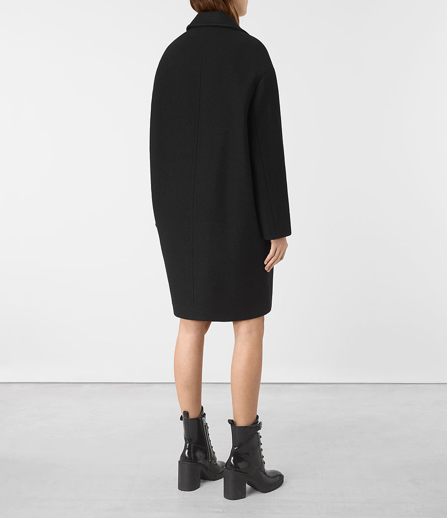 Donne Cappotto Ada (black) - Image 6