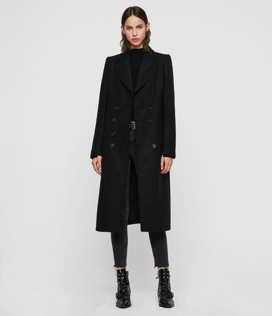 Mujer Abrigo Blair (black) - Image 1