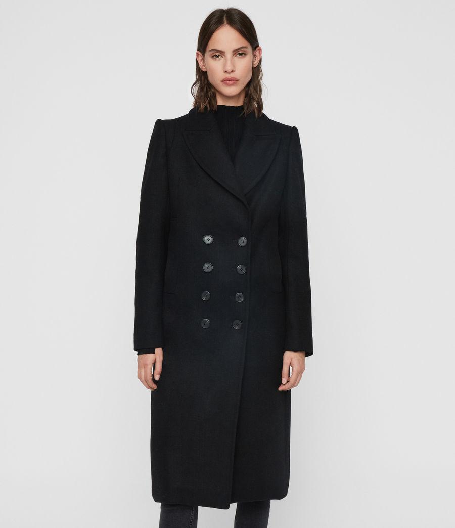 Mujer Abrigo Blair (black) - Image 4
