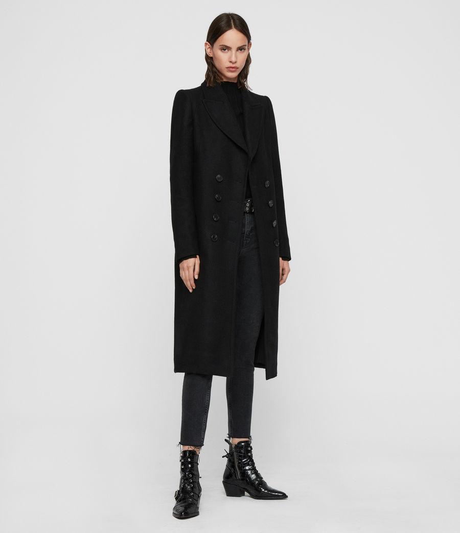 Mujer Abrigo Blair (black) - Image 5
