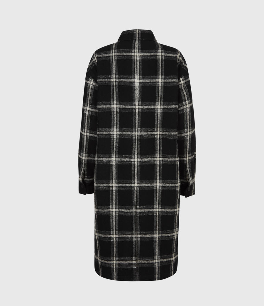 Damen Nia Mono Mantel (black_grey) - Image 3