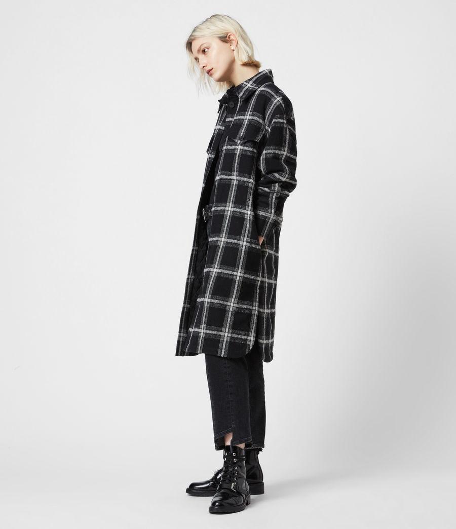 Damen Nia Mono Mantel (black_grey) - Image 6