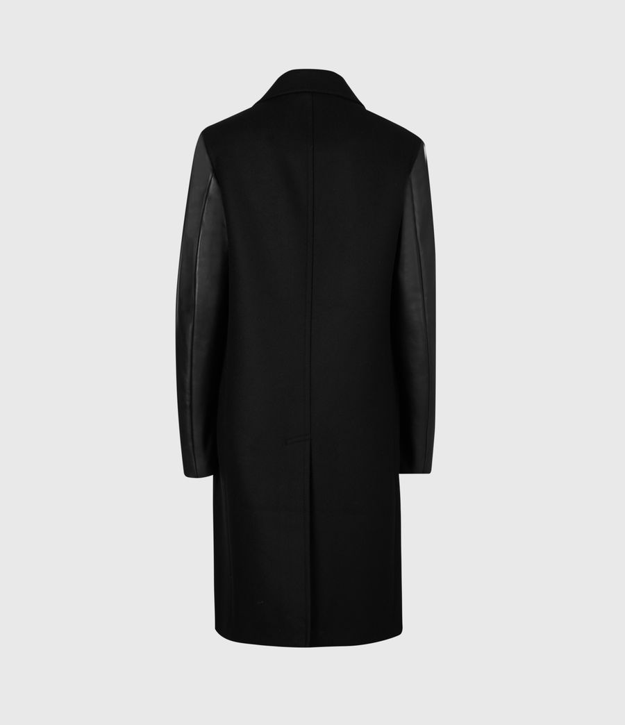 Women's Rosalind Lea Cashmere Blend Coat (black) - Image 3
