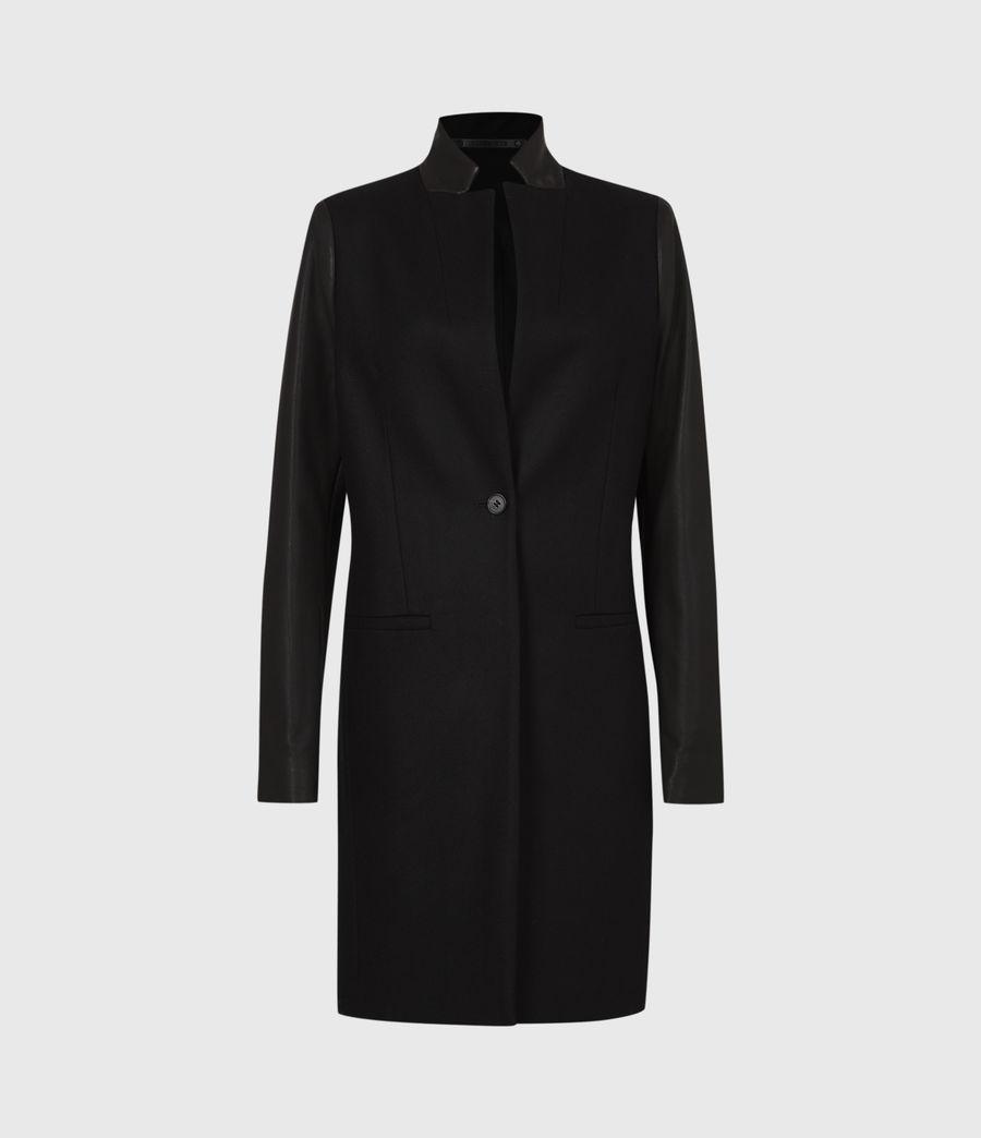 Women's Leni Lea Coat (black) - Image 1