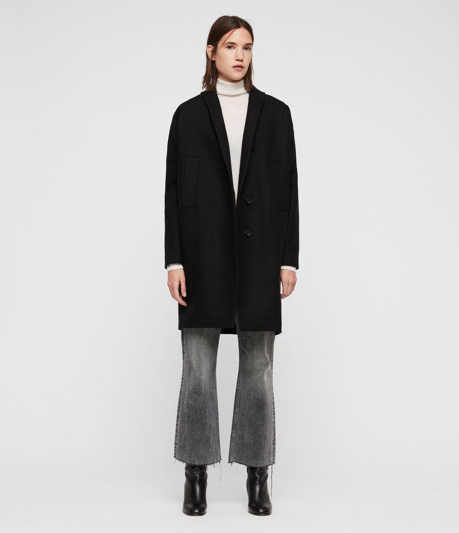 Womens Layton Coat (black) - Image 3