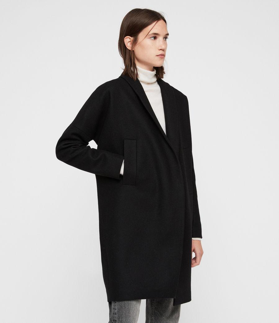 Womens Layton Coat (black) - Image 4