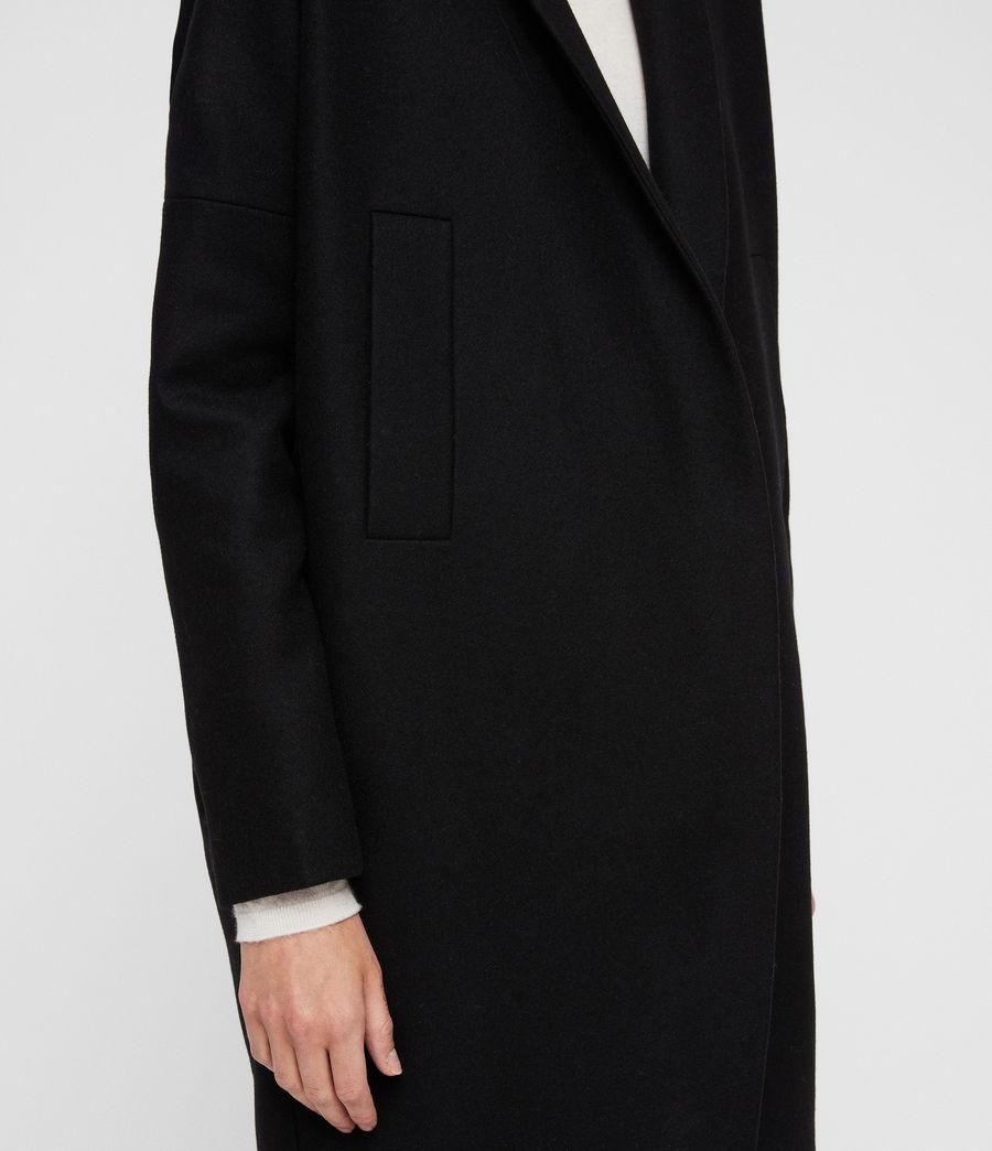 ALLSAINTS FR: Femme Manteau Layton (black)