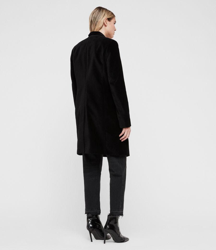 Mujer Abrigo Leni Velvet (black) - Image 5