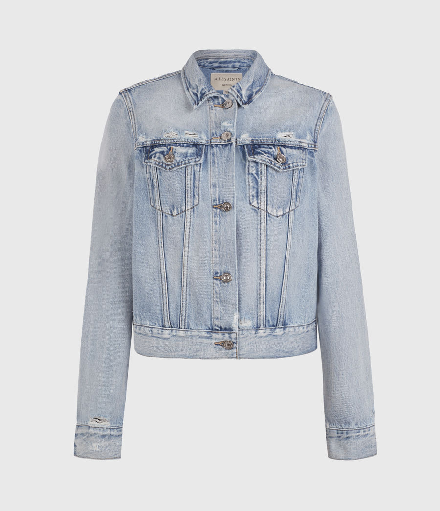 Womens Hay Denim Jacket (light_indigo) - Image 2