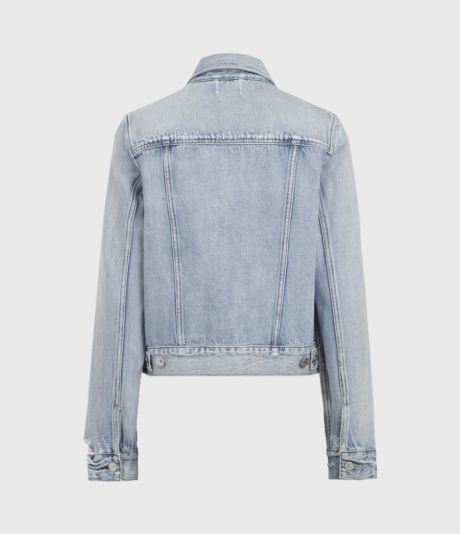 Womens Hay Denim Jacket (light_indigo) - Image 3