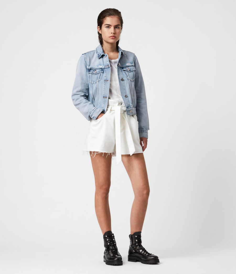 Womens Hay Denim Jacket (light_indigo) - Image 4