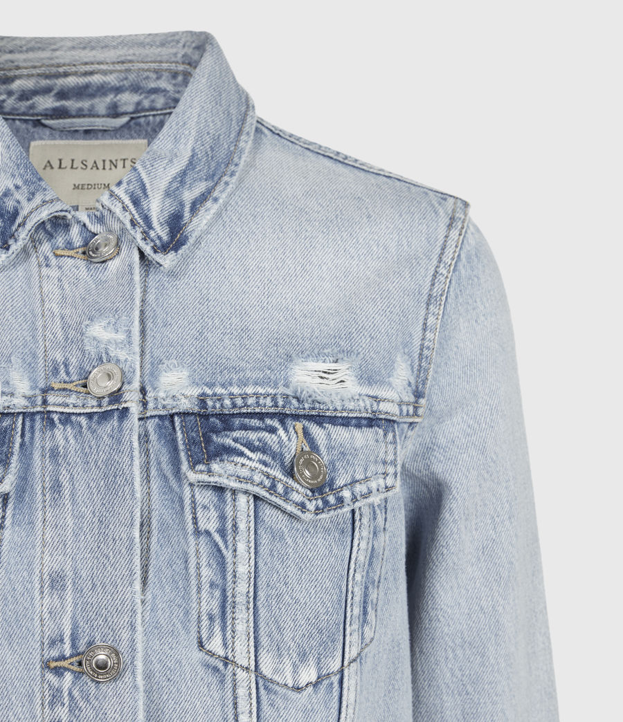 Womens Hay Denim Jacket (light_indigo) - Image 5