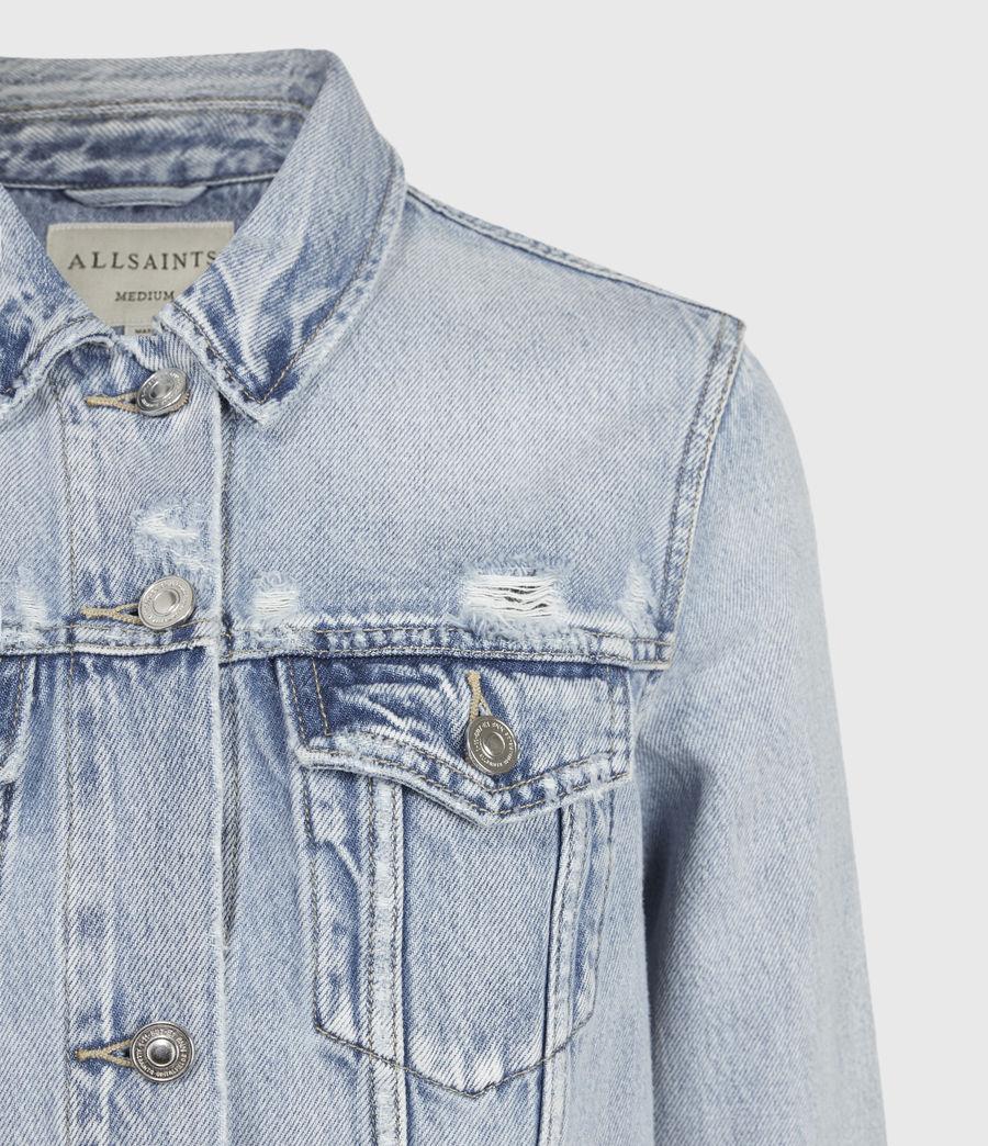 Women's Hay Denim Jacket (light_indigo) - Image 5