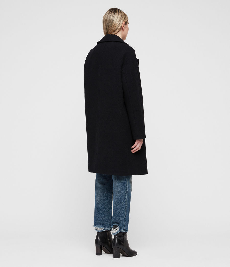 Women's Anita Coat (ink_blue) - Image 6
