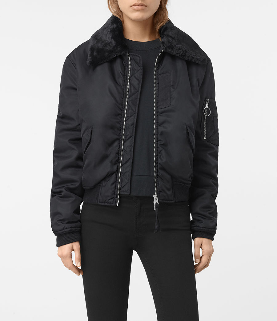 Women's Luca Bomber Jacket (ink_blue) - Image 1