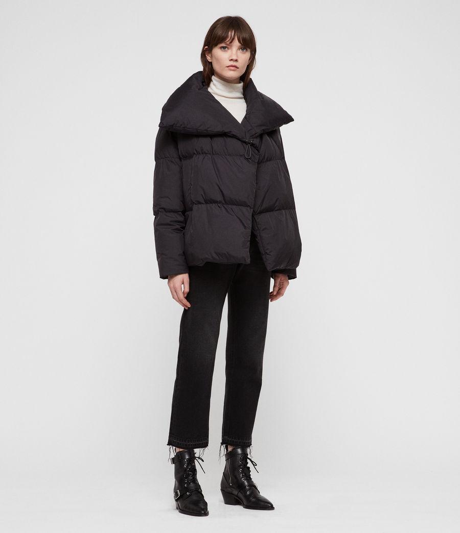 Women's Vrai Avia Puffer Coat (black) - Image 1