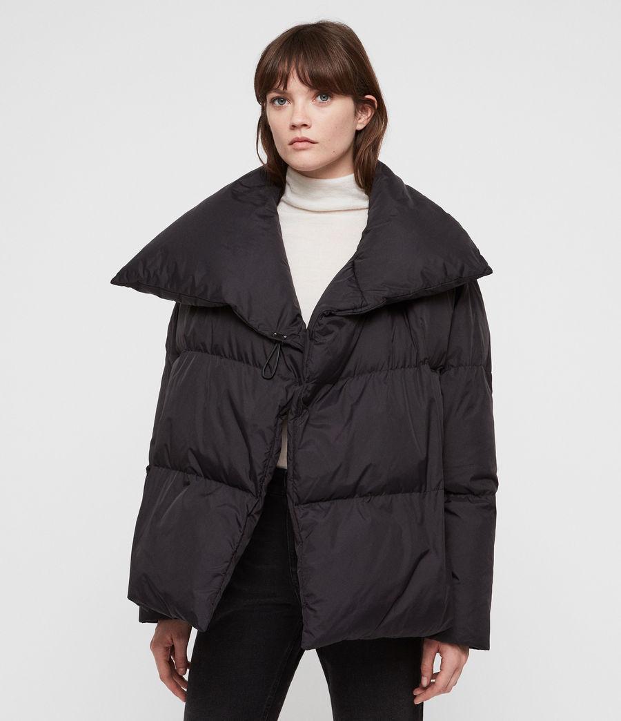 Women's Vrai Avia Puffer Coat (black) - Image 5