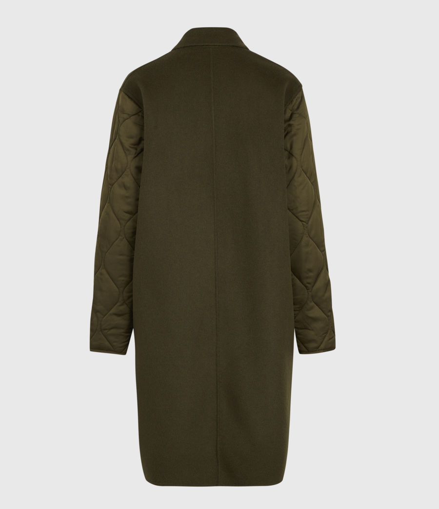 Women's Florence Coat (khaki_green) - Image 3
