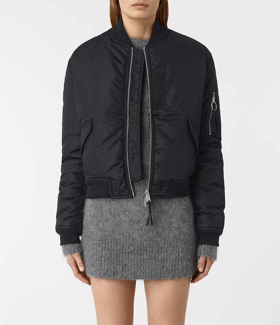Mujer Bomber reversible Open Lux (ink_blue) - Image 1