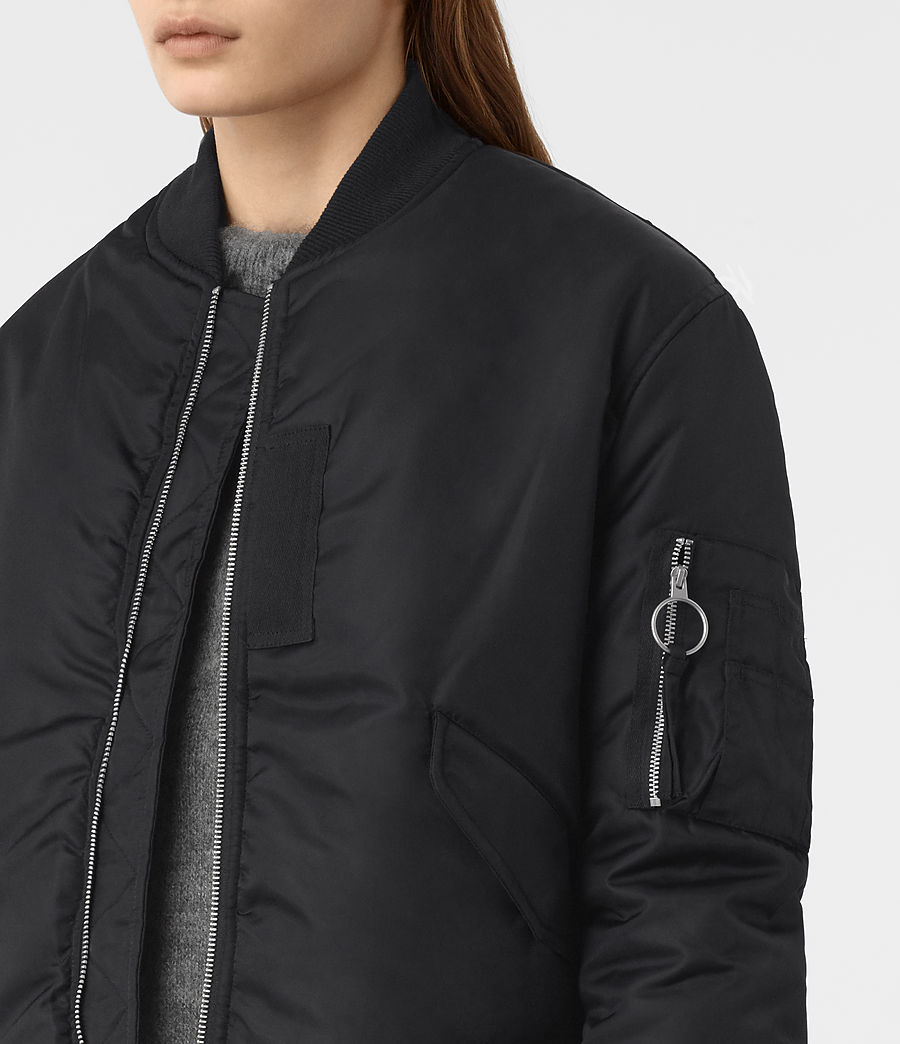 Mujer Bomber reversible Open Lux (ink_blue) - Image 3