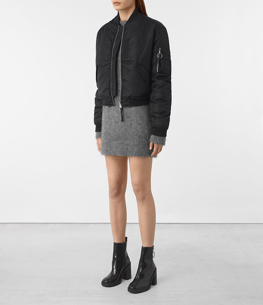 Mujer Bomber reversible Open Lux (ink_blue) - Image 4