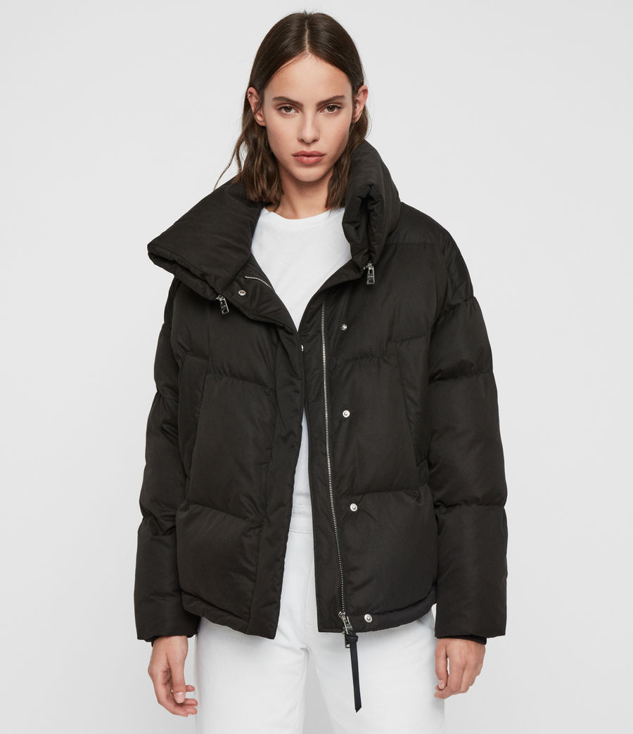 Womens Piper Puffer Coat (ecru_white) - Image 1