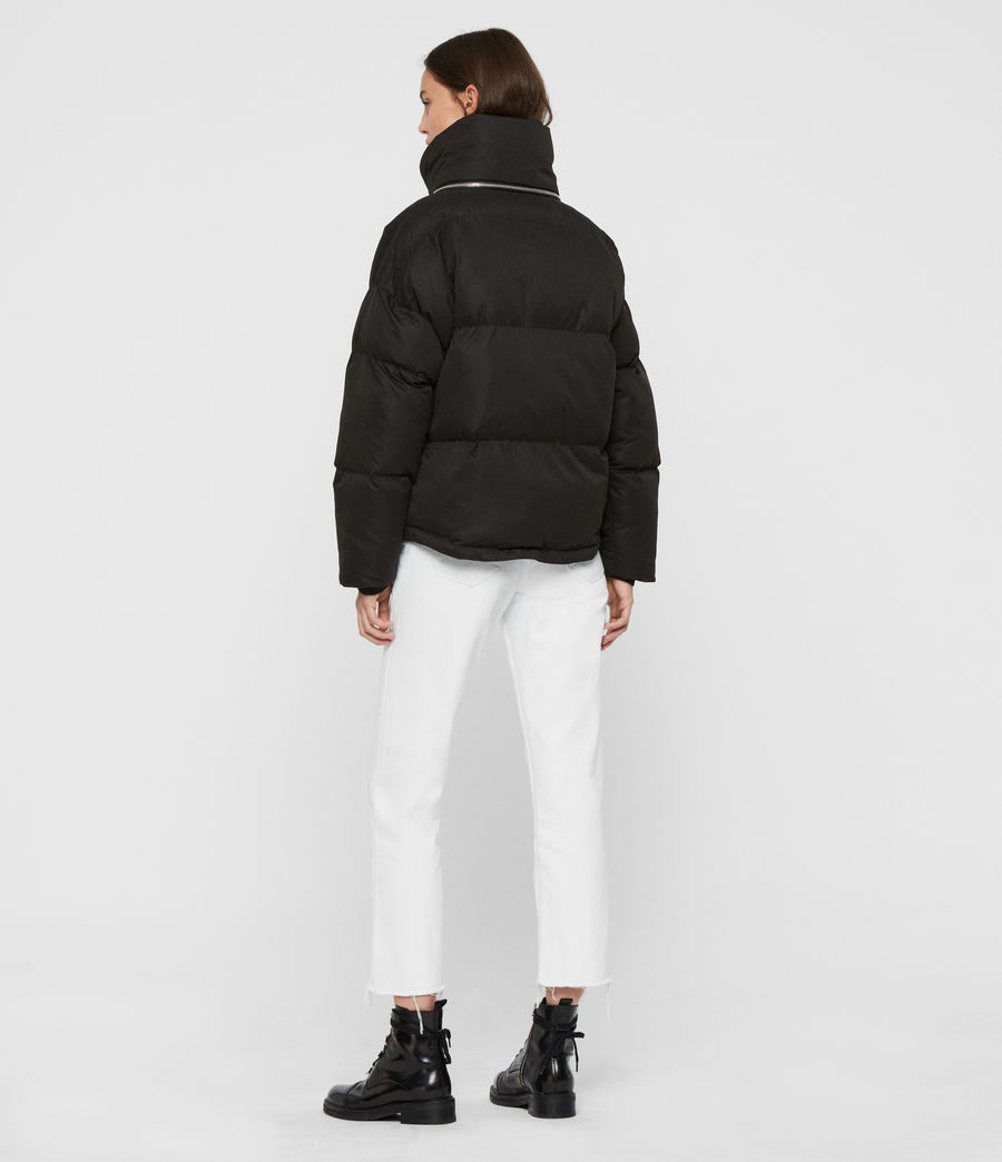 Womens Piper Puffer Coat (ecru_white) - Image 8