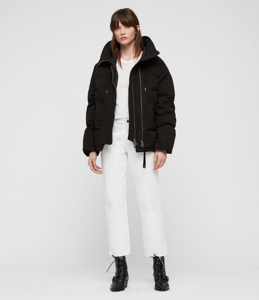 Women's Quinn Puffer Coat (black) - Image 1