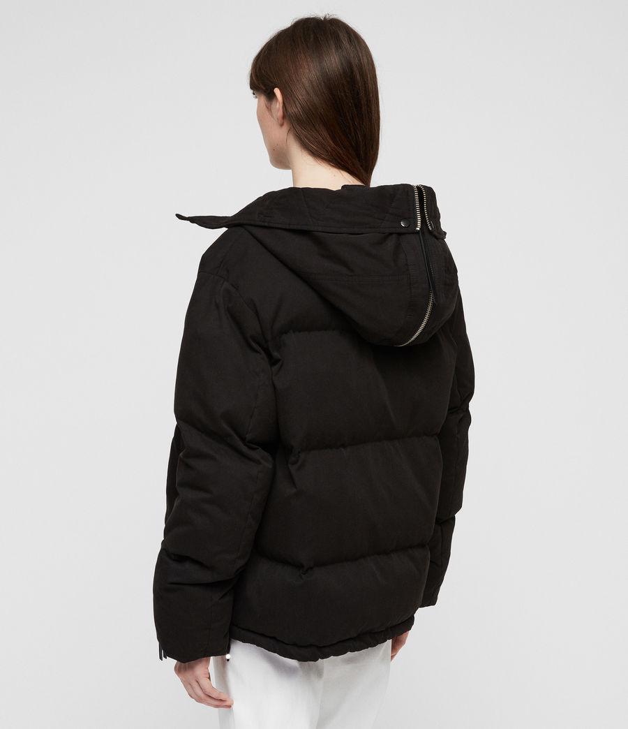 Women's Quinn Puffer Coat (black) - Image 10