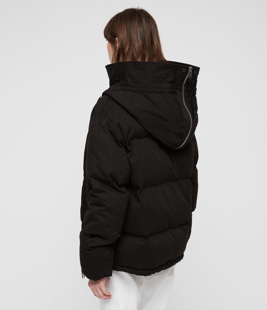 Women's Quinn Puffer Coat (black) - Image 9