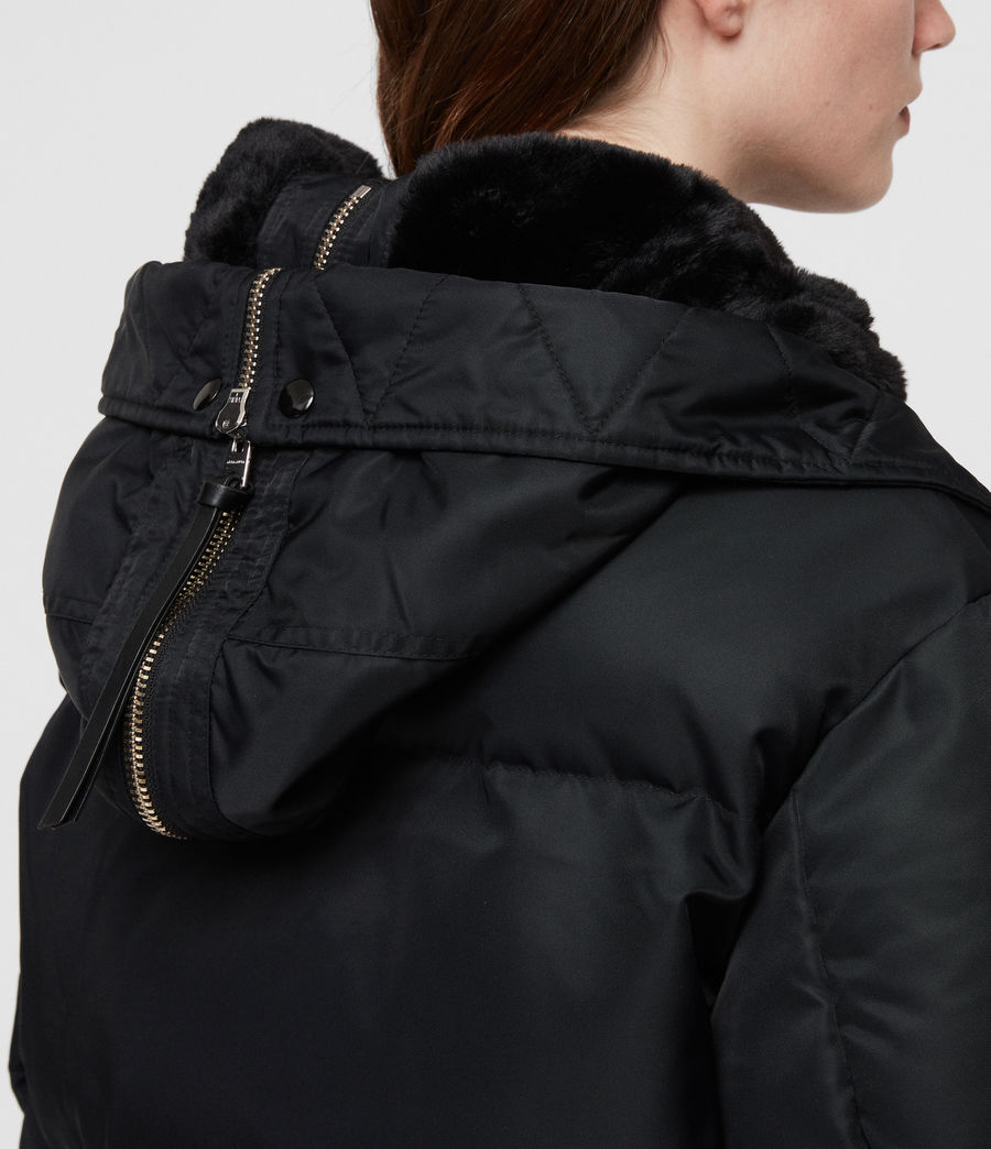 Women's Kayla Puffer Coat (ink_blue) - Image 7